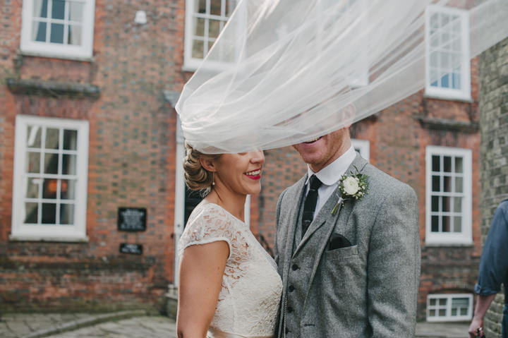 3 Zoe & Luke's 1940's Vintage Sussex Wedding. By Jacqui McSweeney