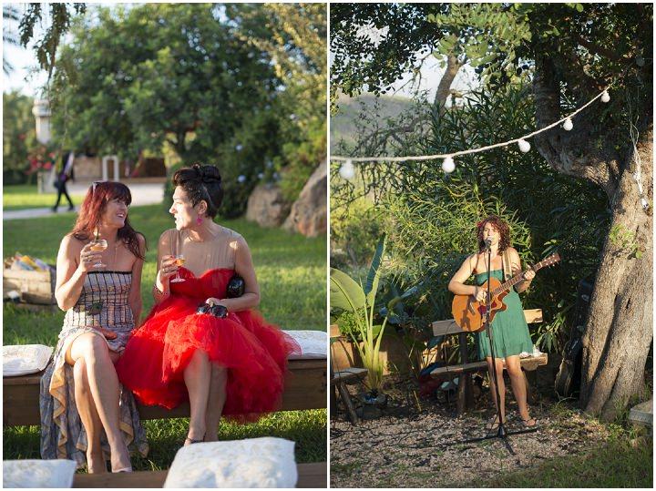 30 Ana & Prindy's Eccentric, Colourful, Ibiza Wedding. By Gypsy Westwood