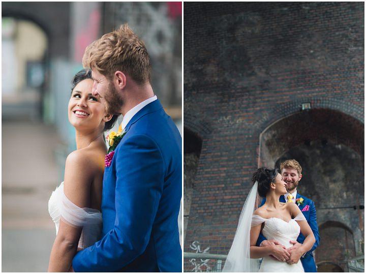 30 Danielle & Andy's Vibrant, Urban Wedding. By Murray Clarke