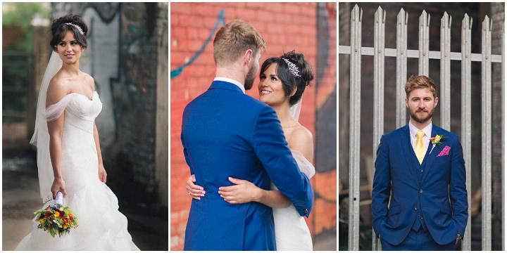 31 Danielle & Andy's Vibrant, Urban Wedding. By Murray Clarke