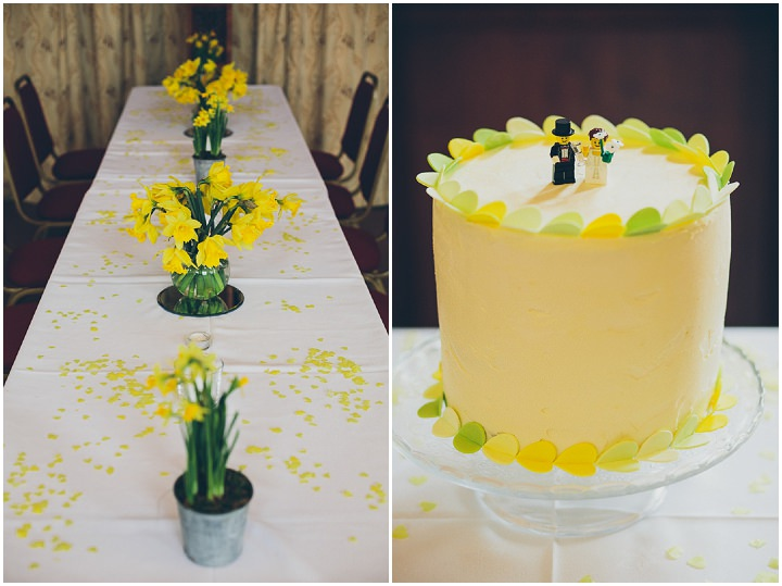32 Daffodil Filled Wedding By Red on Blonde Photography