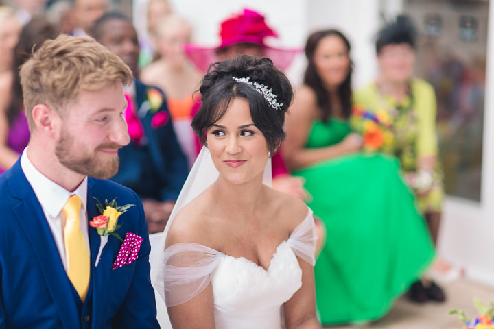 32 Danielle & Andy's Vibrant, Urban Wedding. By Murray Clarke