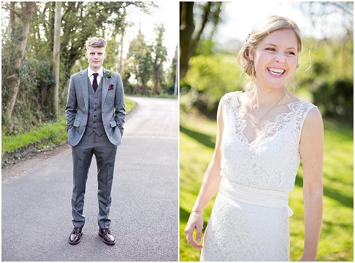 34 Katrine & Steven's Rustic Spring Wedding. By Jo Hastings.