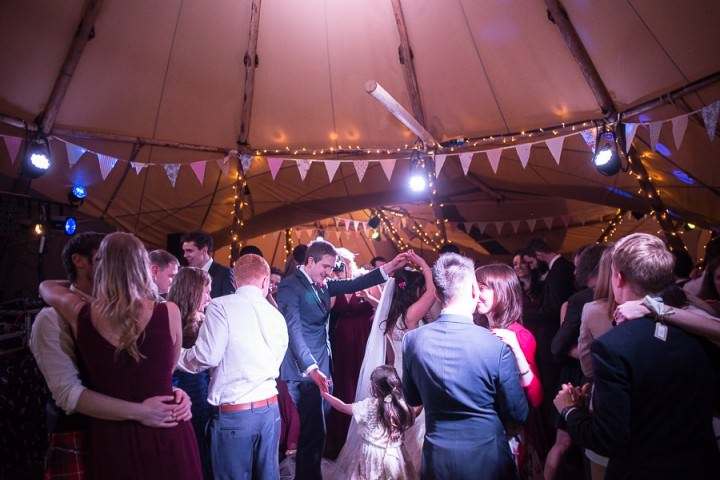 34 Nicola & Harry's Vintage Tipi Wedding. By SDS Photography