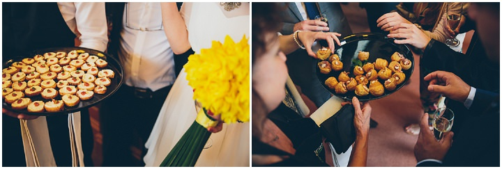35 Daffodil Filled Wedding By Red on Blonde Photography