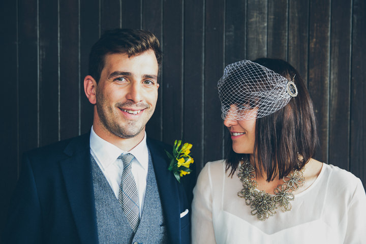 36 Daffodil Filled Wedding By Red on Blonde Photography