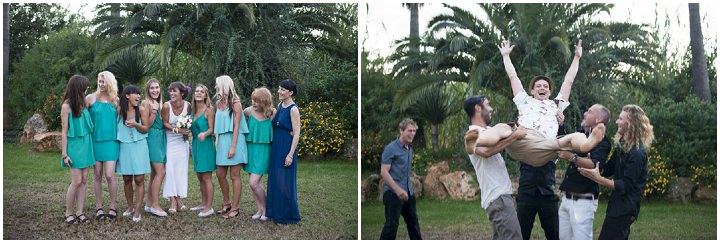 38 Ana & Prindy's Eccentric, Colourful, Ibiza Wedding. By Gypsy Westwood