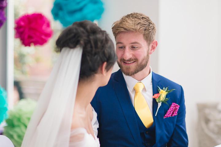 39 Danielle & Andy's Vibrant, Urban Wedding. By Murray Clarke