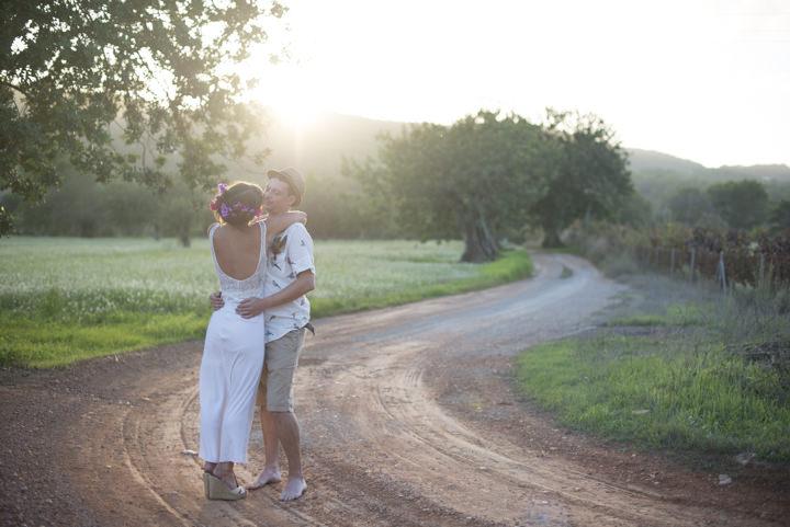 4 Ana & Prindy's Eccentric, Colourful, Ibiza Wedding. By Gypsy Westwood