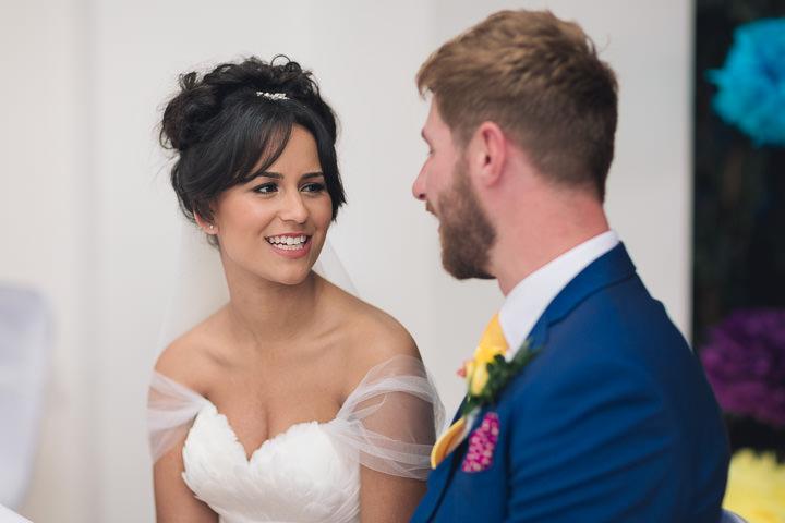 41 Danielle & Andy's Vibrant, Urban Wedding. By Murray Clarke