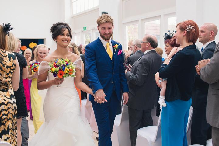 43 Danielle & Andy's Vibrant, Urban Wedding. By Murray Clarke