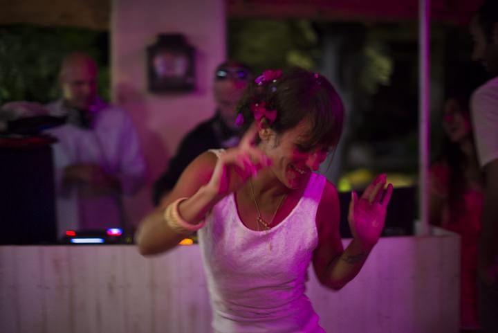 45 Ana & Prindy's Eccentric, Colourful, Ibiza Wedding. By Gypsy Westwood