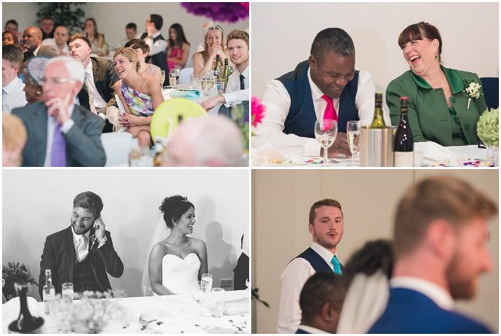 47 Danielle & Andy's Vibrant, Urban Wedding. By Murray Clarke