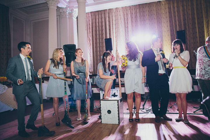 48 Daffodil Filled Wedding By Red on Blonde Photography
