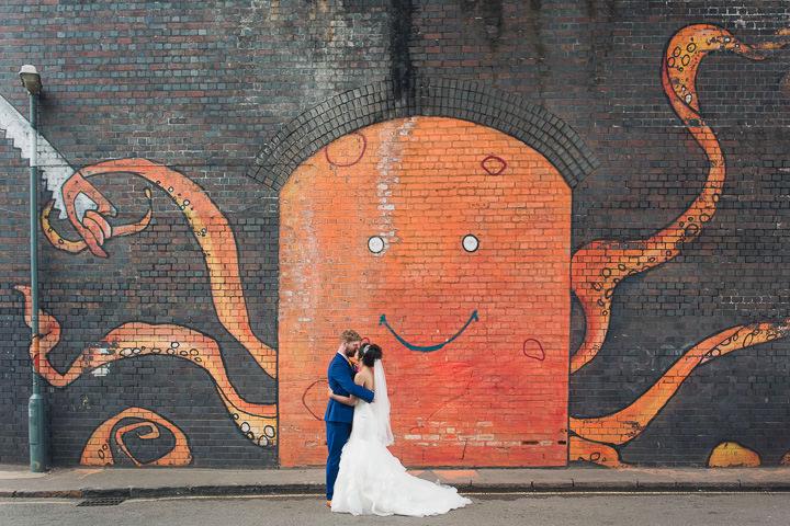 48 Danielle & Andy's Vibrant, Urban Wedding. By Murray Clarke