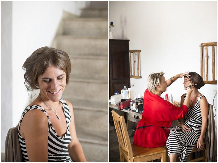 5 Ana & Prindy's Eccentric, Colourful, Ibiza Wedding. By Gypsy Westwood