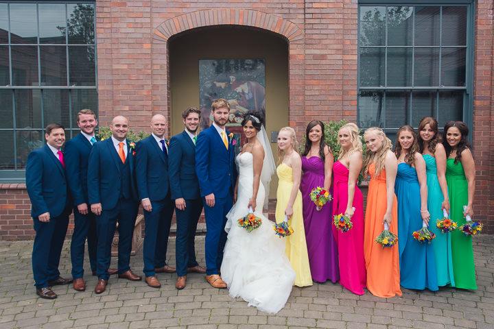 54 Danielle & Andy's Vibrant, Urban Wedding. By Murray Clarke