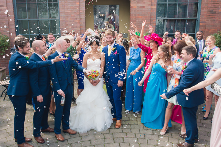 56 Danielle & Andy's Vibrant, Urban Wedding. By Murray Clarke