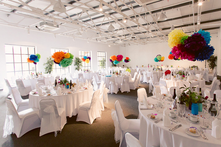 57 Danielle & Andy's Vibrant, Urban Wedding. By Murray Clarke