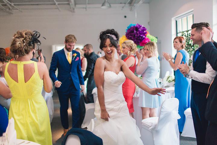 59 Danielle & Andy's Vibrant, Urban Wedding. By Murray Clarke