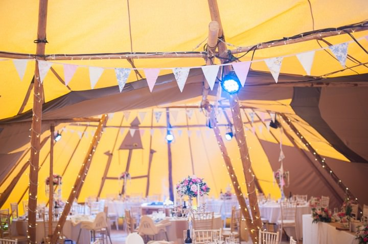 6 Nicola & Harry's Vintage Tipi Wedding. By SDS Photography