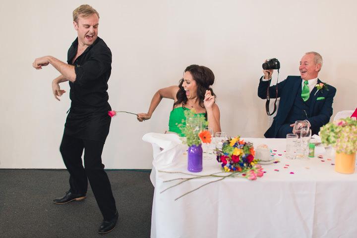 60 Danielle & Andy's Vibrant, Urban Wedding. By Murray Clarke