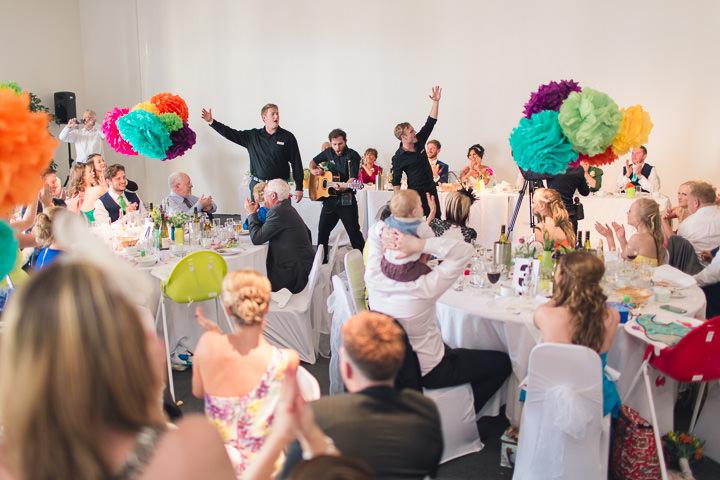 61 Danielle & Andy's Vibrant, Urban Wedding. By Murray Clarke