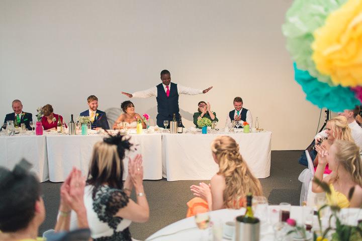 63 Danielle & Andy's Vibrant, Urban Wedding. By Murray Clarke
