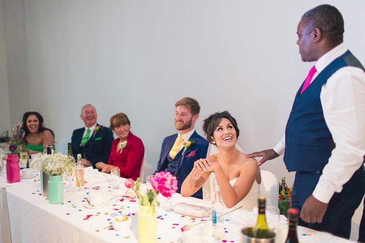 64 Danielle & Andy's Vibrant, Urban Wedding. By Murray Clarke