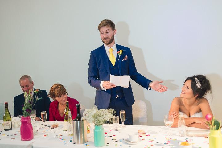 65 Danielle & Andy's Vibrant, Urban Wedding. By Murray Clarke