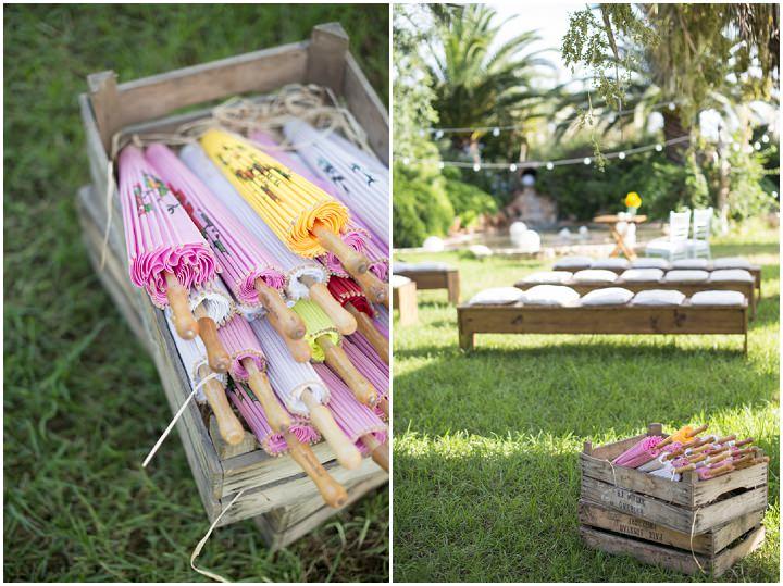 9 Ana & Prindy's Eccentric, Colourful, Ibiza Wedding. By Gypsy Westwood