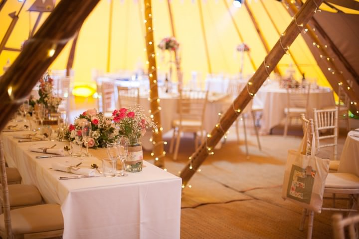 9 Nicola & Harry's Vintage Tipi Wedding. By SDS Photography