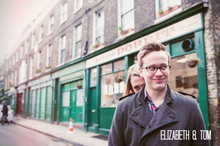 a1 London Borough Market Engagement Shoot. By Laura Babb