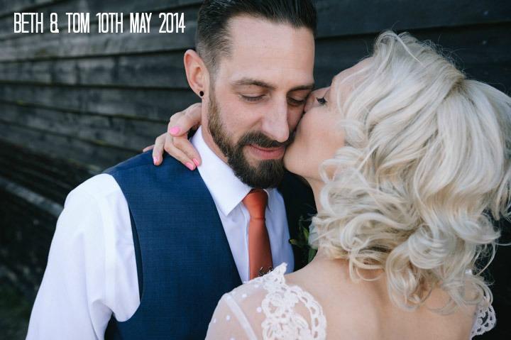 1 Beth & Tom's Rockabilly Barn Wedding. By Tino & Pip