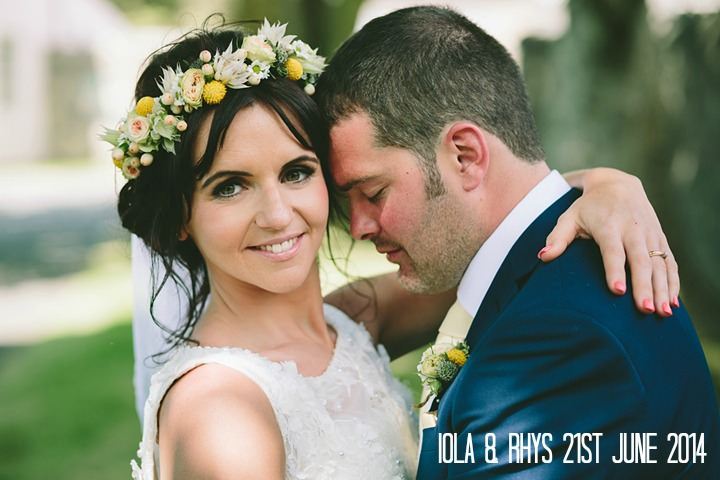 1 Iola & Rhys' Rustic, Yellow Themed Wedding. By Tony Fanning