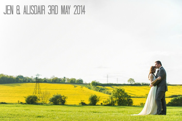 1 Jen & Alisdair's Humanist Barn Wedding. By Matt Parry