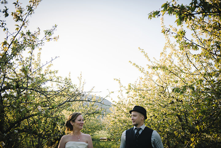 An Intimate Cherry Orchard Wedding in France - A Styled Shoot