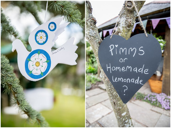 18 Frances & Iain's English Garden Tipi Wedding. By Pam Hordon
