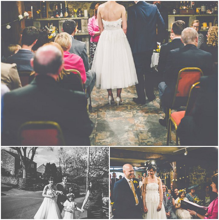 19 Elisabeth & David's Relaxed North Yorkshire Wedding. By James Melia