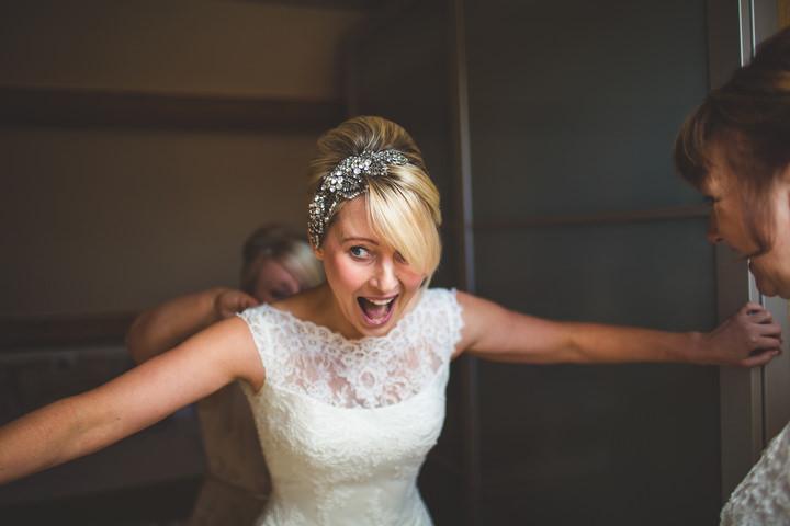 19 Fiona & John's Candlelit Sheffield Wedding. By S6 Photography