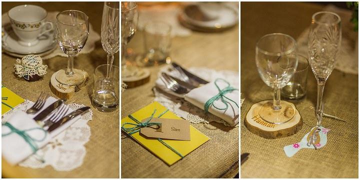 19 Hannah & Sam's Vintage, Handmade Afternoon Tea Wedding. By Paul Joseph
