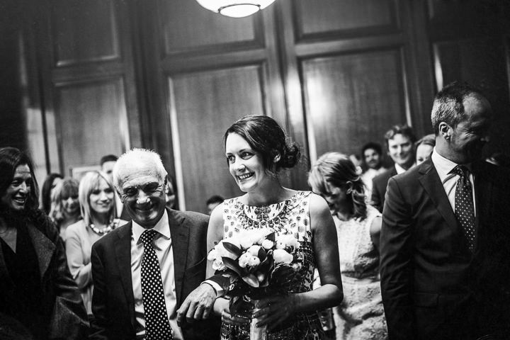 19 Rachel & Jez's Gold and White Camden Wedding. By Matt Parry