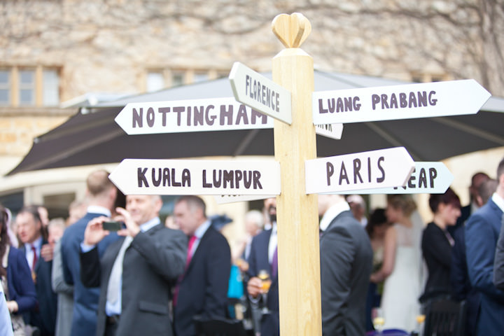 2 Catherine & Chris' Travel Inspired Cotswold Wedding. By Natasha Cadman
