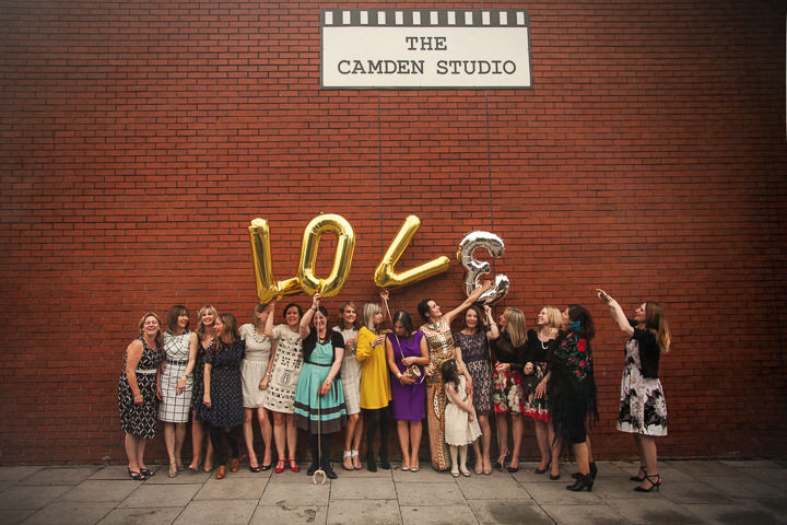 2 Rachel & Jez's Gold and White Camden Wedding. By Matt Parry
