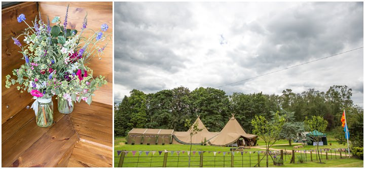 20 Frances & Iain's English Garden Tipi Wedding. By Pam Hordon