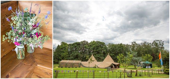 20 Frances & Iain's English Garden Tipi Wedding. By Pam Hordon