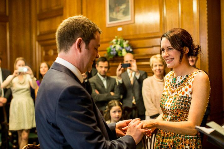 20 Rachel & Jez's Gold and White Camden Wedding. By Matt Parry