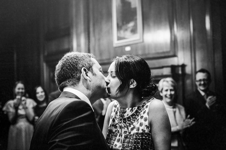 21 Rachel & Jez's Gold and White Camden Wedding. By Matt Parry