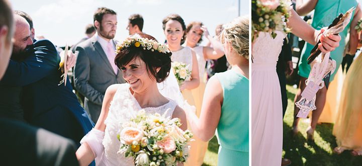 23 Iola & Rhys' Rustic, Yellow Themed Wedding. By Tony Fanning