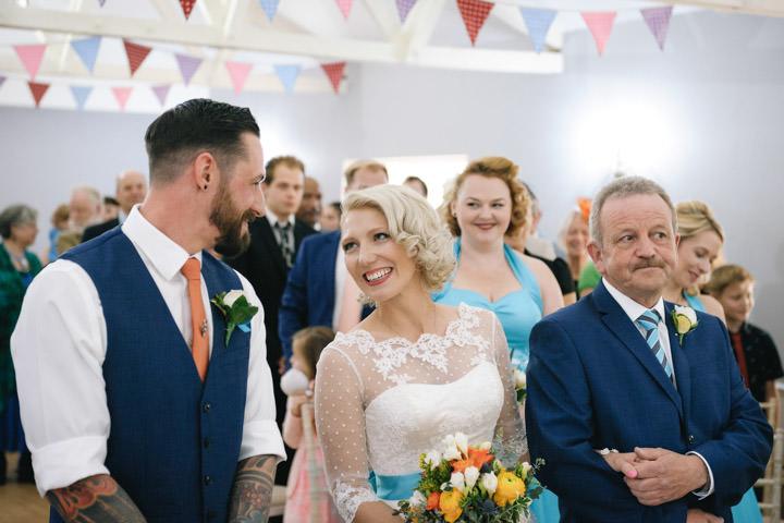 24 Beth & Tom's Rockabilly Barn Wedding. By Tino & Pip